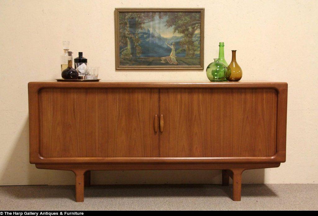Dyrlund Danish Credenza : Sold mid century danish modern dyrlund console credenza or