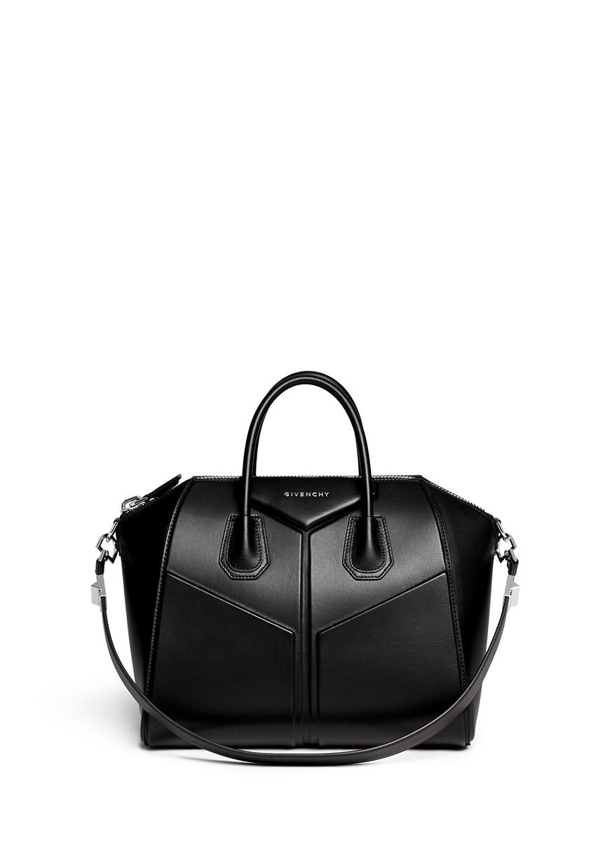GIVENCHY -  Antigona  medium 3D leather satchel   Black Day Shoulder Bags    Womenswear   Lane Crawford - Shop Designer Brands Online 107b36fa2a