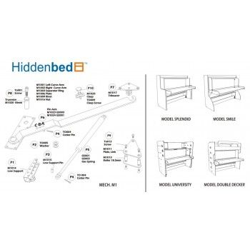 Hiddenbed Diy Plans And Assembly Instructions How To Plan Slim