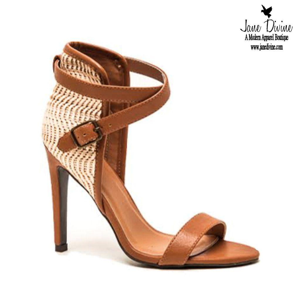 Spring Fashion, Shoes, High Heels, Strut Your Stuff Heels-Camel, by Jane Divine Boutique www.janedivine.com