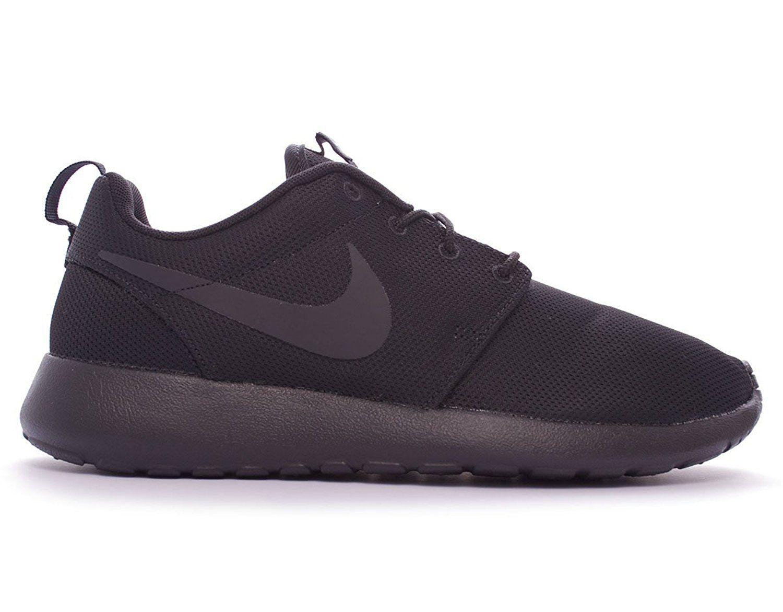 """Amazon.com: Nike Rosherun """"Triple Black"""" Black/Black (511881 099)Size 8.5 M US: Shoes"""