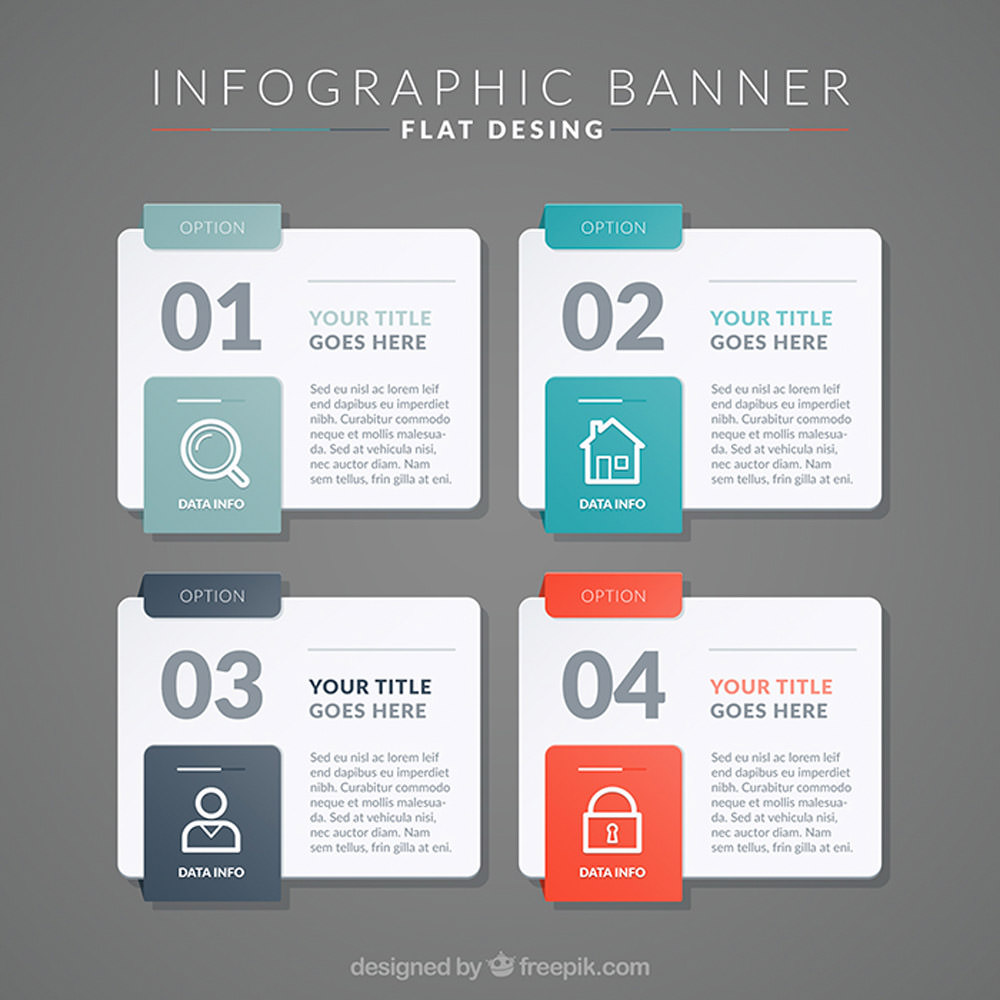 30 Templates & Vector Kits to Design Your Own Infographic - Hongkiat