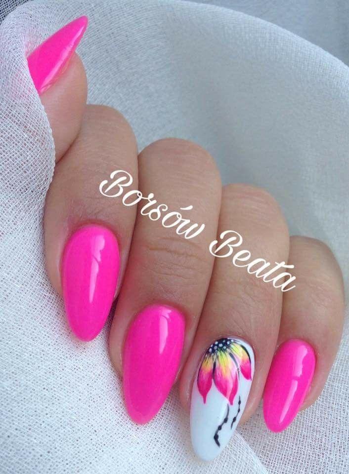 Pin Adăugat De Luminita Pe Unghiute Nails Summer Nails și Flower