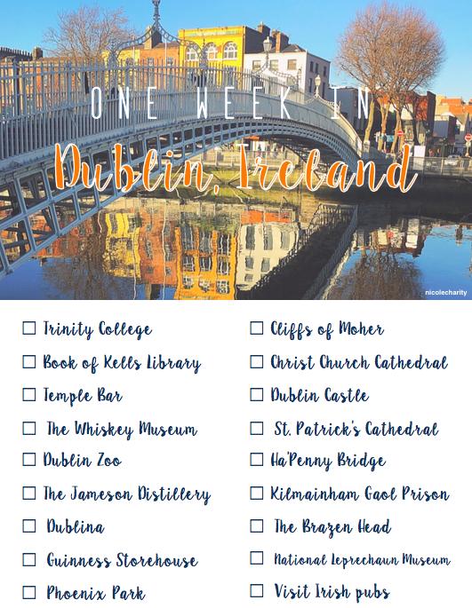 One Week In Dublin Things To Do In Dublin Ireland Dublin Ireland Bucket List Dublin Things To Do Dublin Castle Dublin Zoo