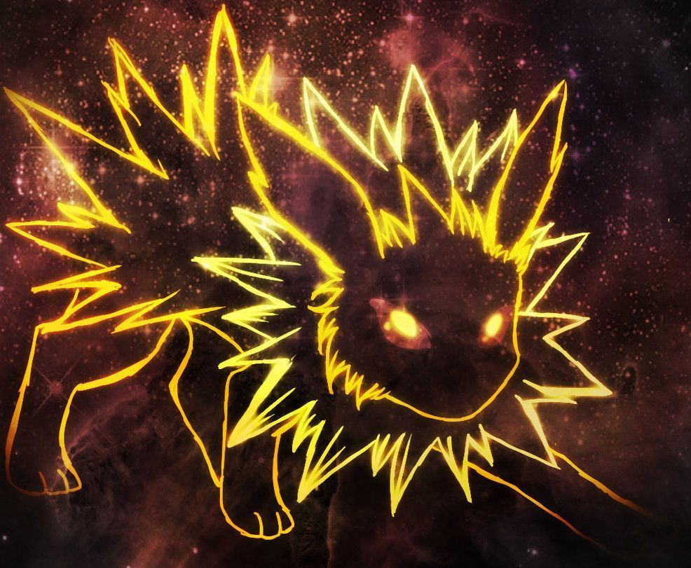 Jolteon Wallpapers Top Free Jolteon Backgrounds Wallpaperaccess Wallpaper Pokemon Universe Wallpaper Pictures