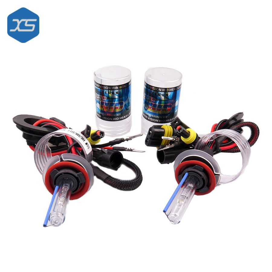 2X 35W H1 Car Auto HID White Xenon Headlight Light Lamp Bulbs 6000K 12V White