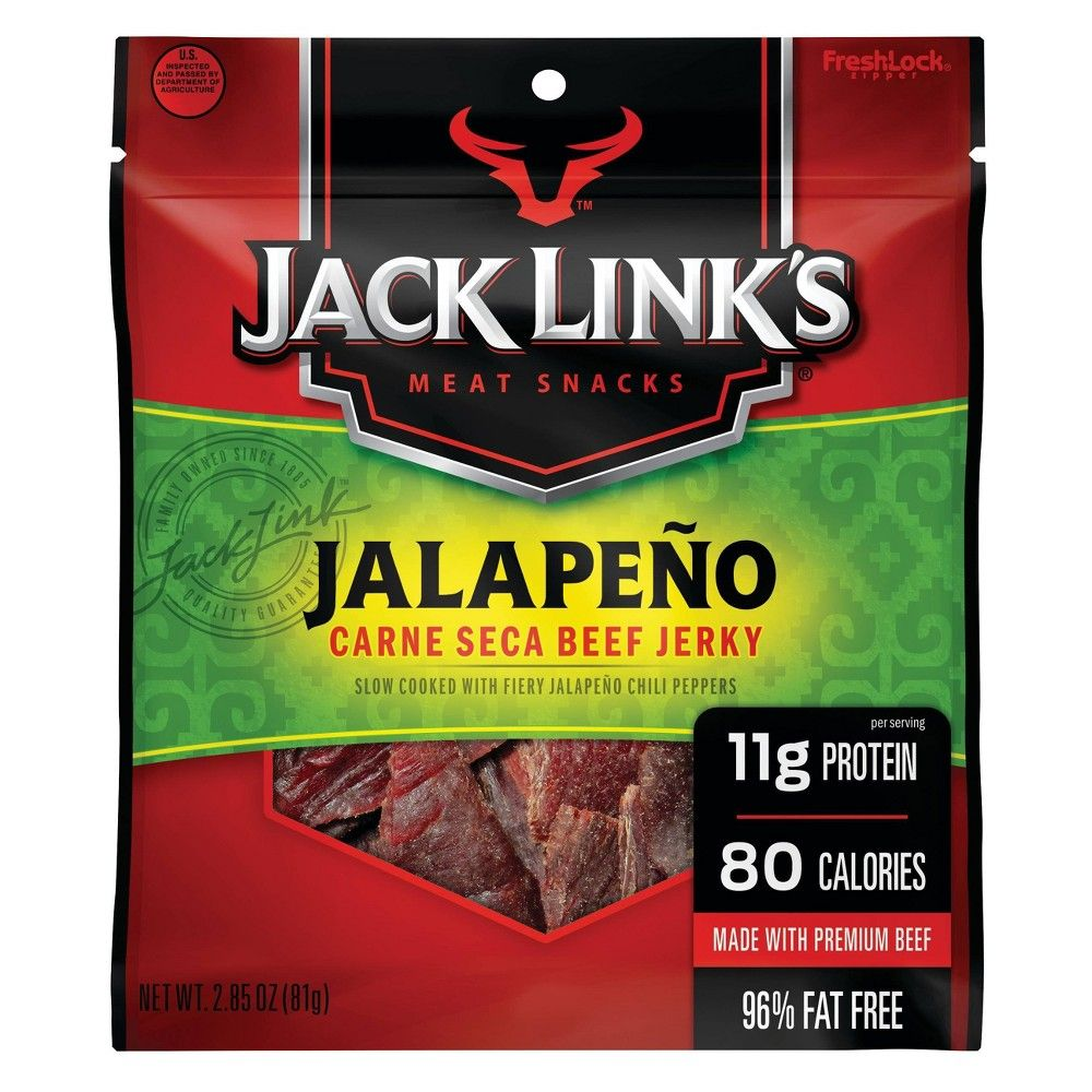 Jack Links Jalapeno Beef Jerky 2 85oz Beef Jerky Beef