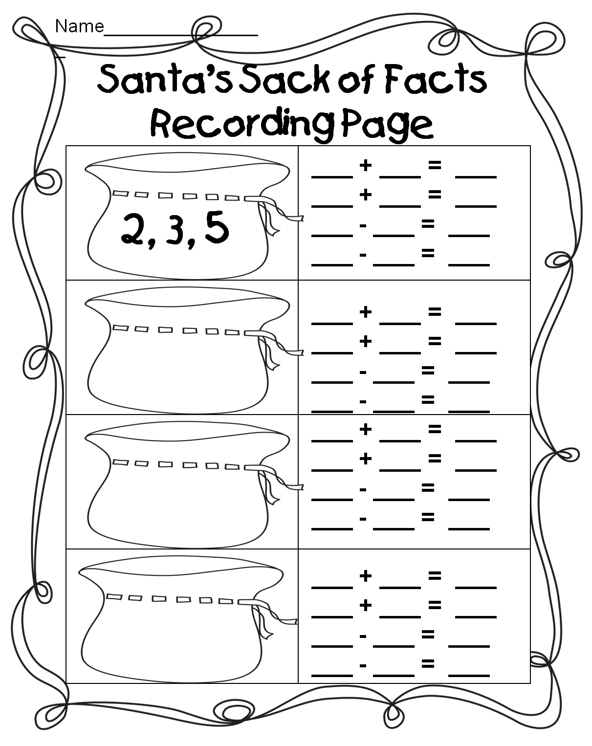 First Grade Wow | Fact family worksheet, Fact families ...