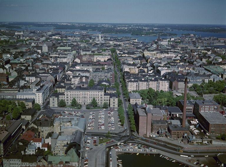 Kamppi ja Punavuori, Hietalahti - Finna - Helsingin...