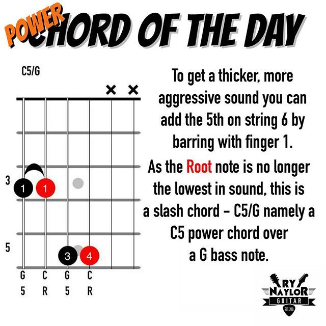 Chord Library. C5/G | chords | Pinterest | Guitars, Guitar chords ...