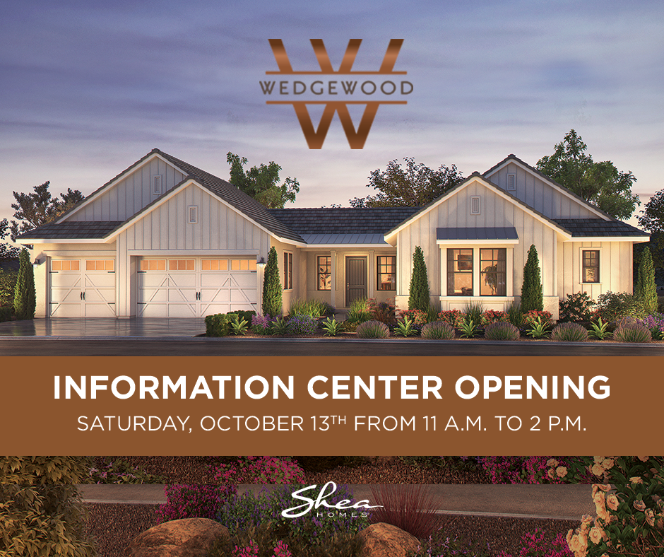 Wedgewood Information Center Opening