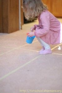 Tape maze pom-pomcollection game andlots more fun indoor activities.