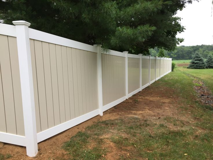 Best Beautiful Fence Installation Job In Schnecksville Of Semi 640 x 480