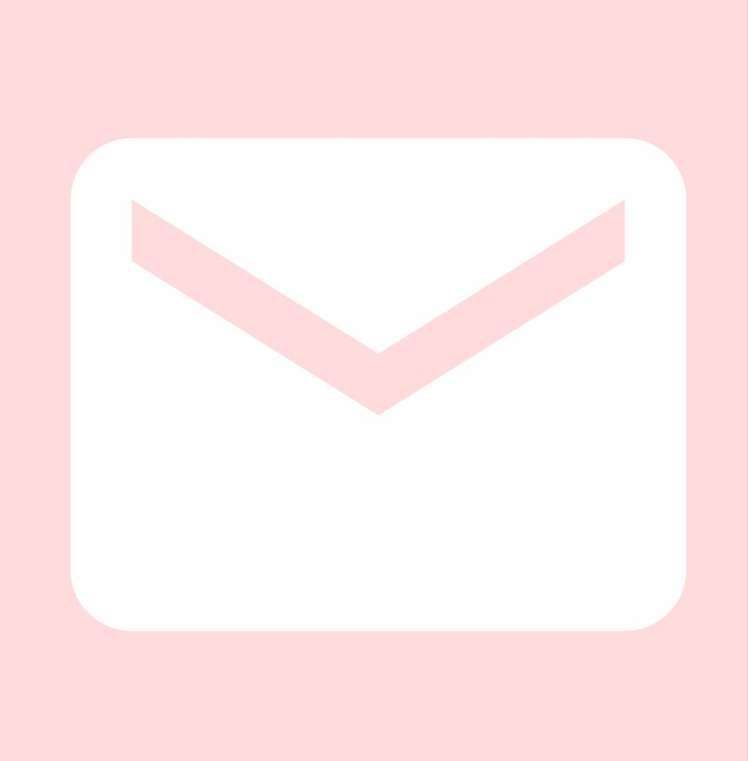 Pink Mail Icon In 2020 Iphone Icon App Icon Iphone Wallpaper Tumblr Aesthetic