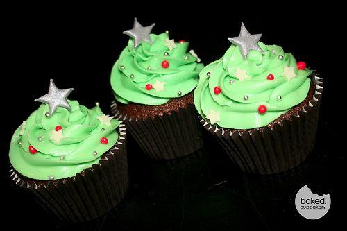 Cupcake Christmas Trees | Flickr - Photo Sharing!