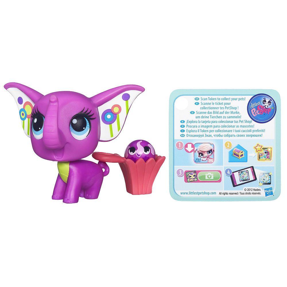 Littlest Pet Shop Elephant Pet And Elephant Friend Hasbro Toys R Us Little Pets Lps Littlest Pet Shop Pet Shop