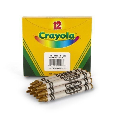 Crayola Bulk Crayons Gold Pack Of 12 By Crayola Http Www