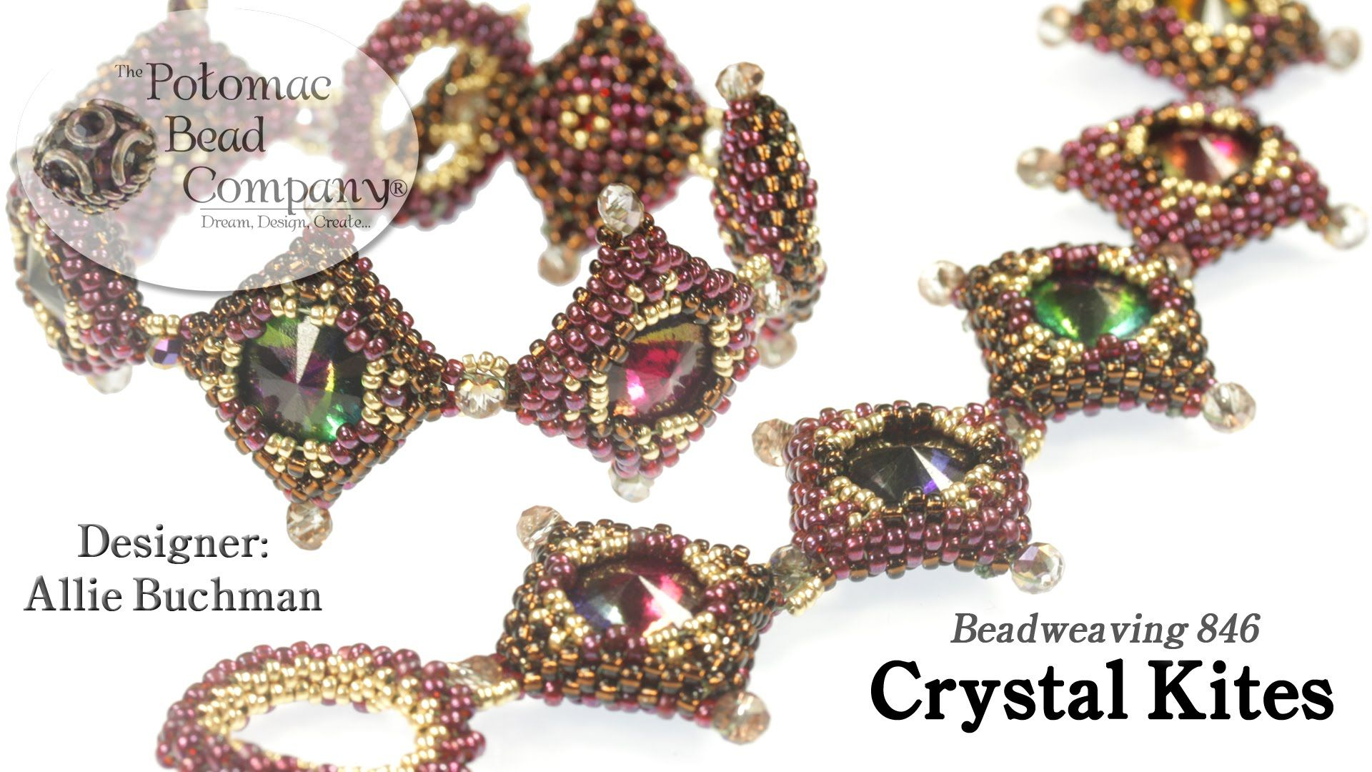 This video tutorial from the potomac bead company teaches how to