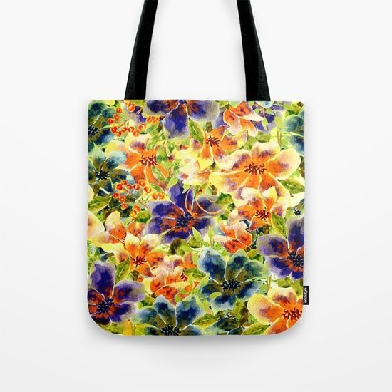 vivid floral Tote Bag5$ off and free shipping today 04/02