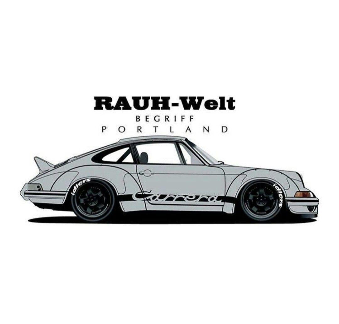 Porsche Rwb Spectre Porsche Cars Porsche 911 Classic Art Cars