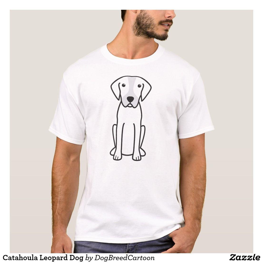 Catahoula Leopard Dog T-Shirt | Zazzle.com