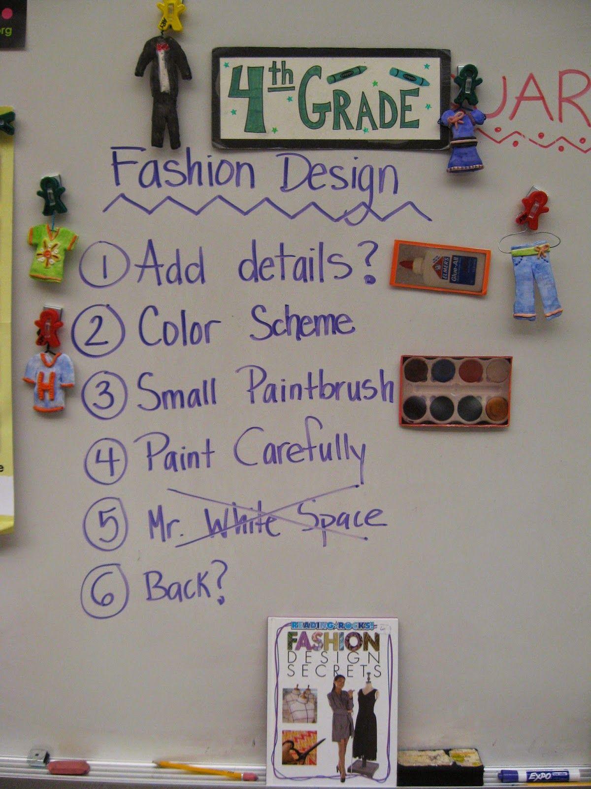 Jamestown Elementary Art Blog 4th Grade Fashion Design With Clay