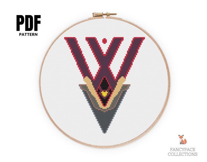 Wanda-Vision 1950/'s Counted Cross Stitch Kit