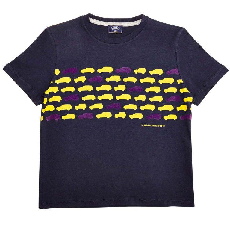 Boy's Vehicle Print T-Shirt