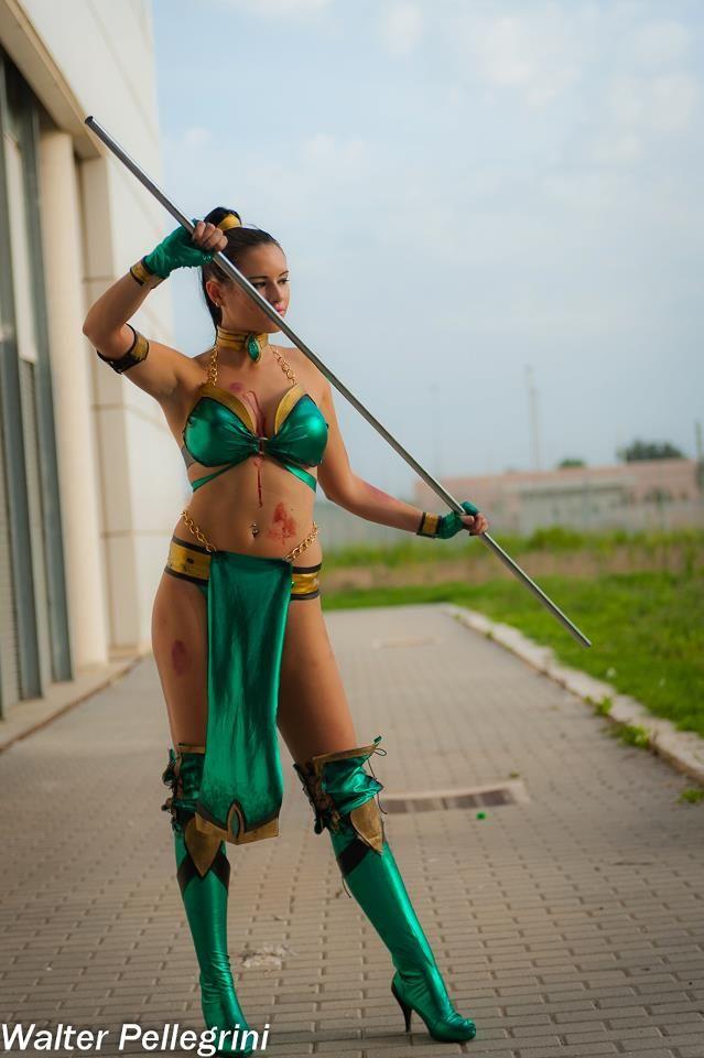 Lexi Farron Strife Cosplay Jade Cosplay Mortal Kombat Jade
