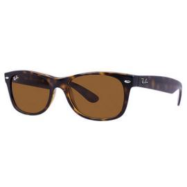 Ray Ban Rb2132 New Wayfarer Classic Sunglasses Tortoise Frame Brown Classic B 15 Lens New Wayfarer Classic Sunglasses Ray Bans