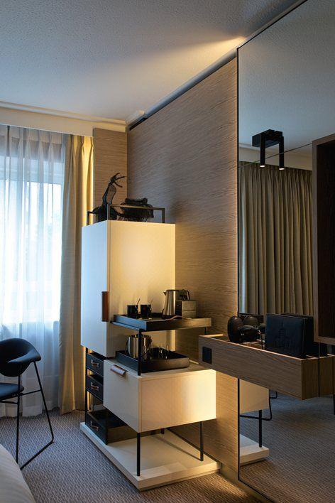 Marriott Maida Vale Anita Rosato In 2020 Hotel Room Design Hotel Room Interior Mini Bar