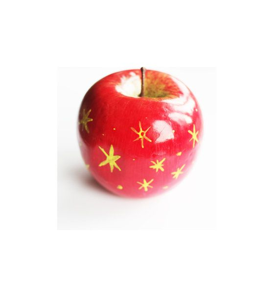 Red Remarkable Apple From Fantastic Mr Fox By Wesandersonshop 9 00 Fox Decor Fox Party Fox Baby Shower
