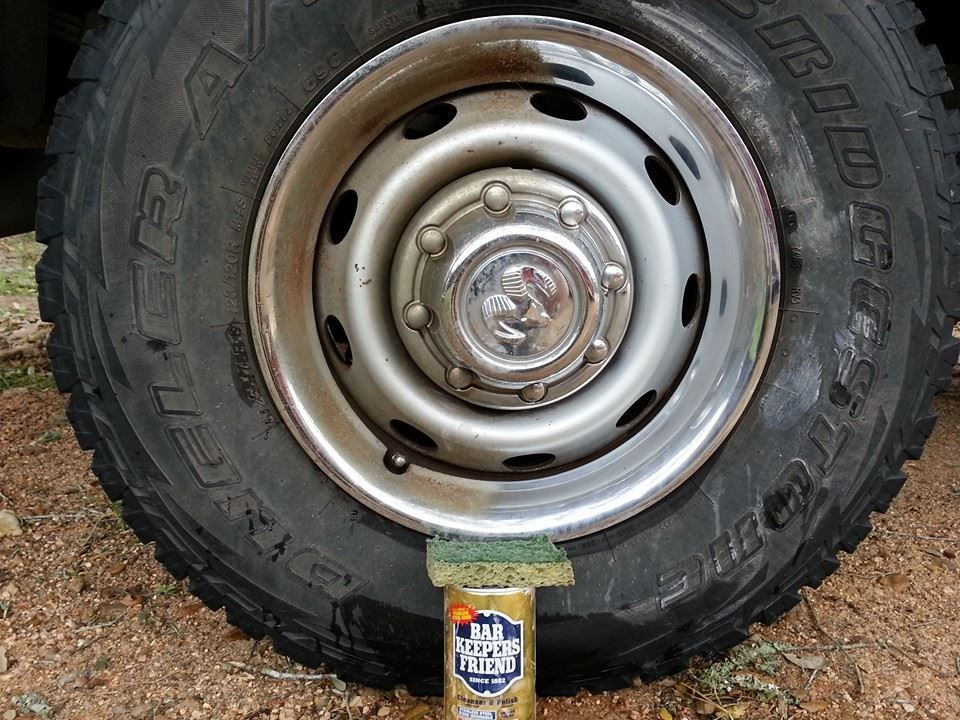 Bar Keepers Friend Rust Removal