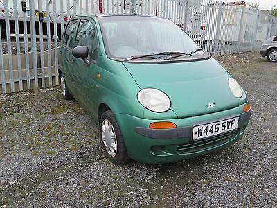 eBay: Daewoo Matiz, Metalic green, only 36K miles from new - spares