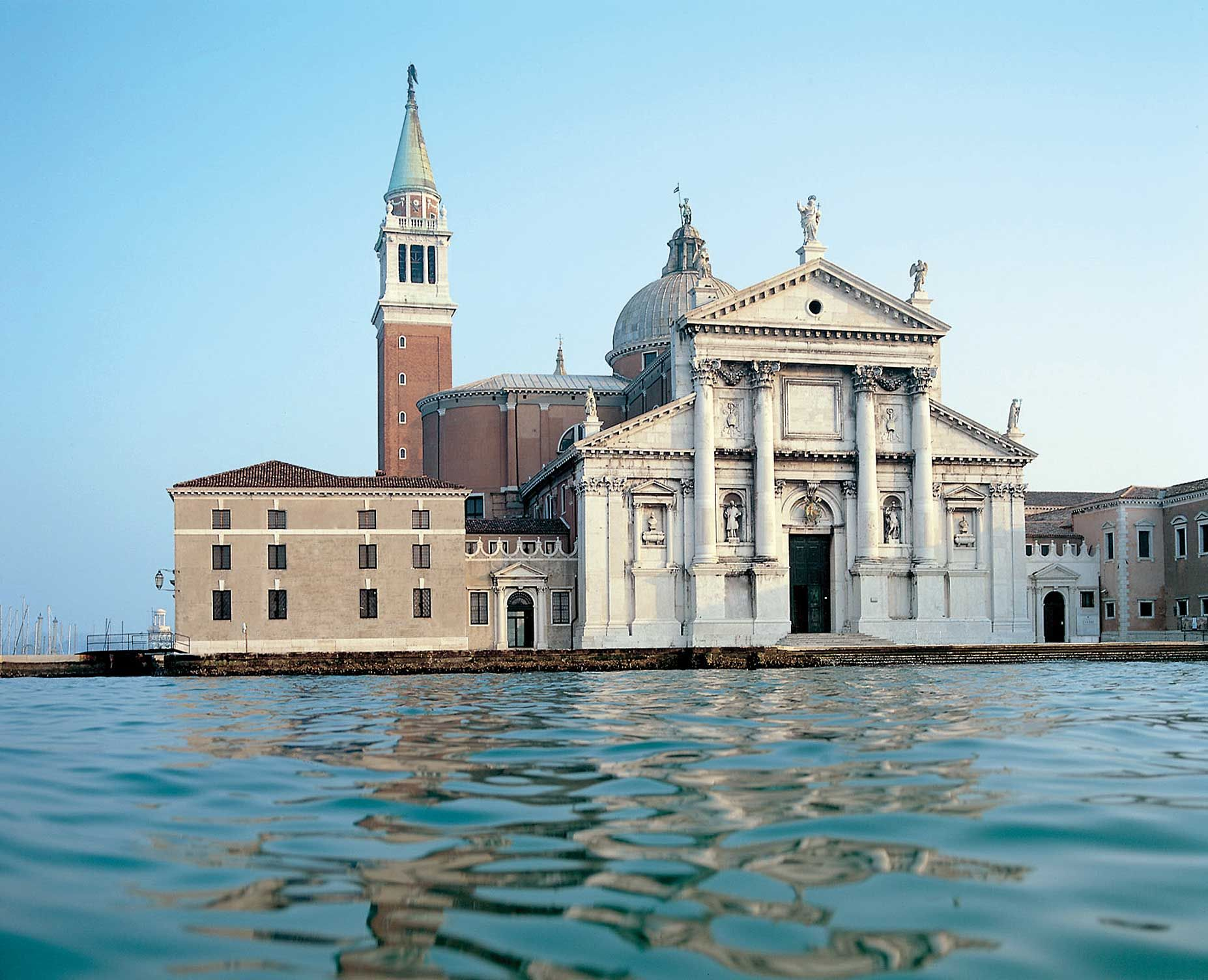 Venezia Isola Di San Giorgio Chiesa Di San Giorgio Maggiore