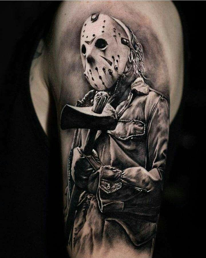 Pin By Travis Davis On Horror Tattoo Horror Tattoo Freddy Krueger Tattoo Movie Tattoos