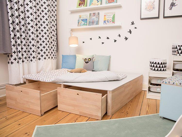 DIY-Anleitung: Podest fürs Kinderzimmer bauen via DaWanda.com ...