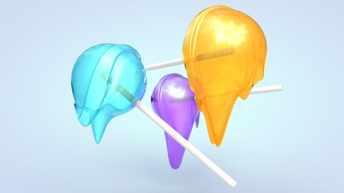 Cinema 4D – Melting a Lollipop using the Jiggle Deformer Tutorial