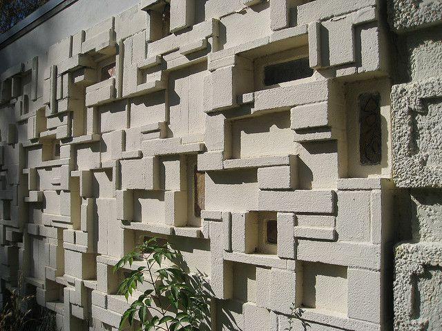 Besser Vibrapac Pattern Concrete Decorative Concrete Walls Concrete Blocks