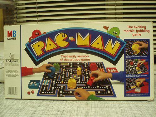 Pacman Board Game Board Games Juegos Juegos Retro Juegos De Mesa