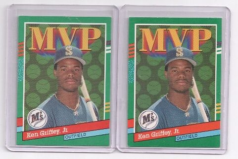 420469ac86 Valuable Ken Griffey Jr. Cards | Home :: Baseball Cards :: 2,1990 LEAF,#392,KEN  GRIFFEY,JR.MVP CARDS .