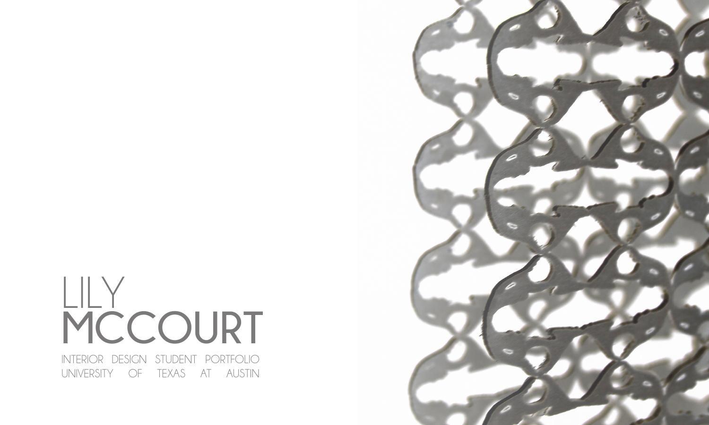 Lily McCourt Interior Design Portfolio