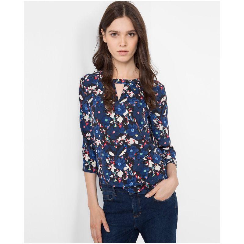 Chemisier femme blouse tunique comptoir des cotonniers tops pinterest chemisier femme - Chemise comptoir des cotonniers ...