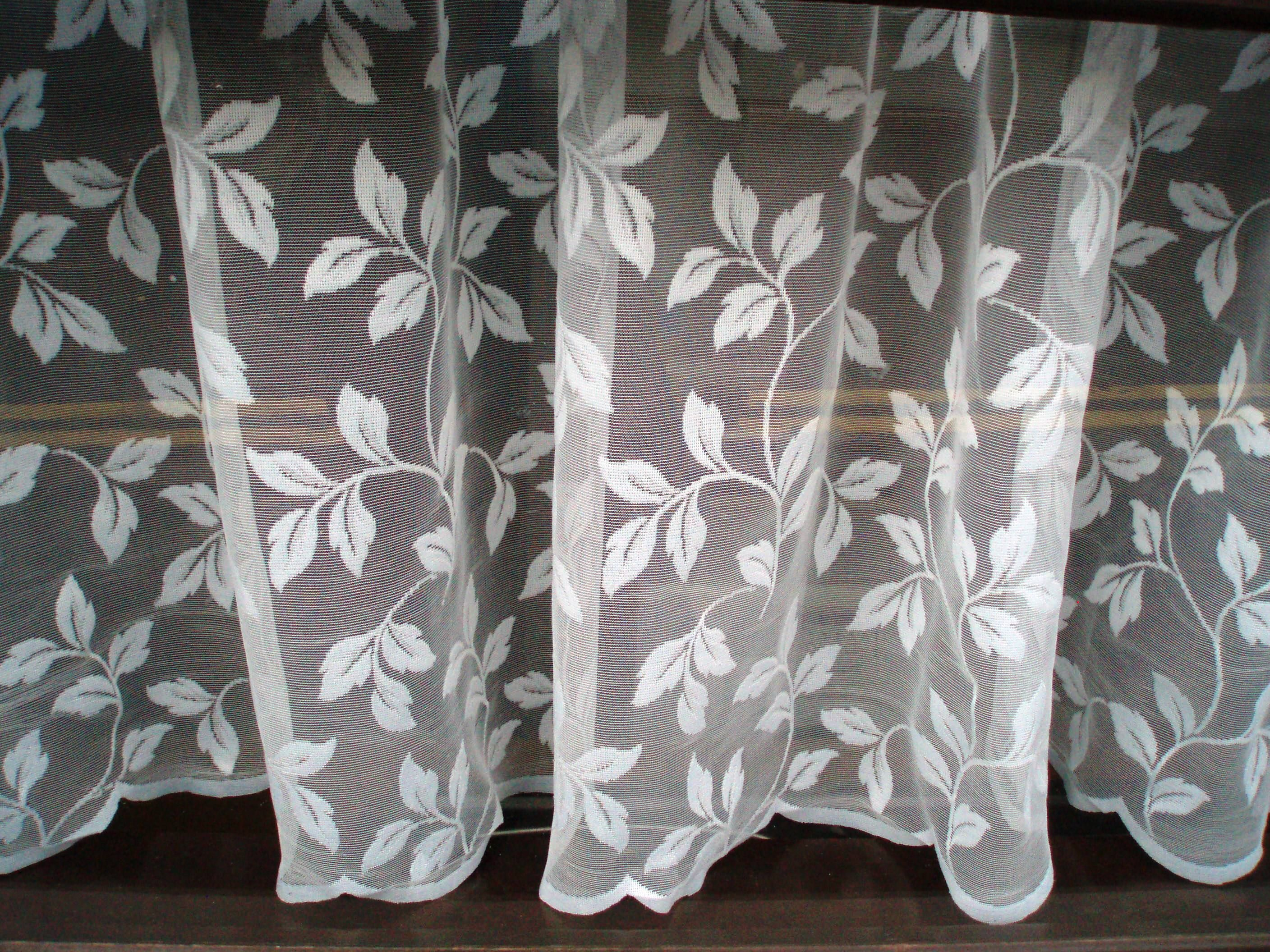 Handmaid Irish Lace Curtains Carnlough Harbor Ireland