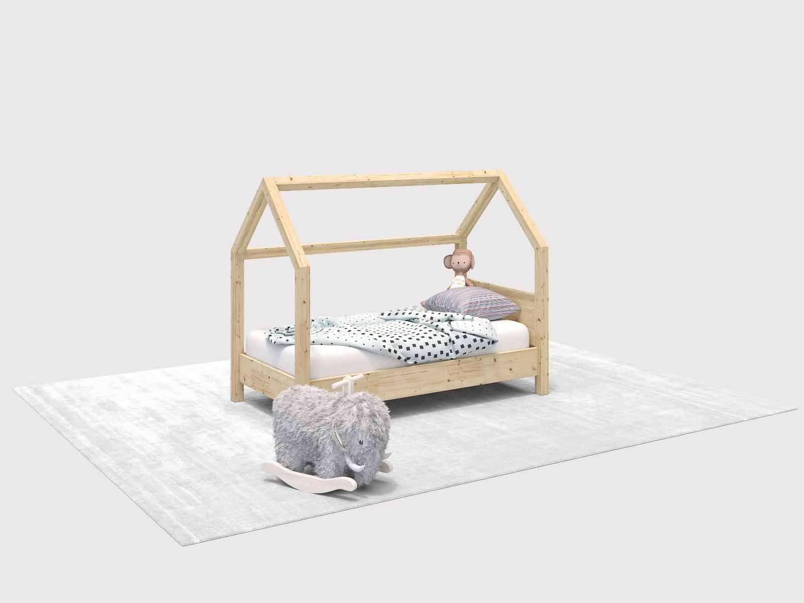 Kinderbett Moritz selber bauen Alle Möbel (mit Bildern