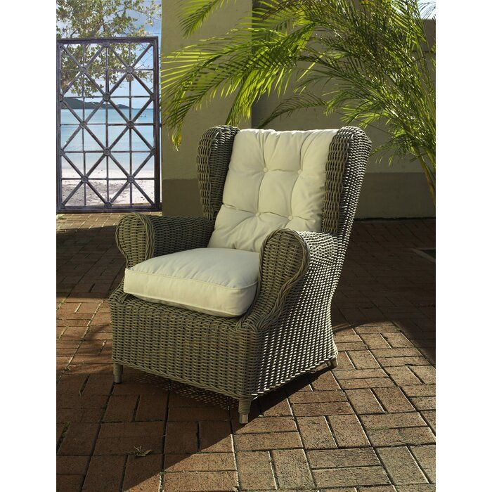 Shop On The Web Outdoor Cottage Deep Seating Patio Chair