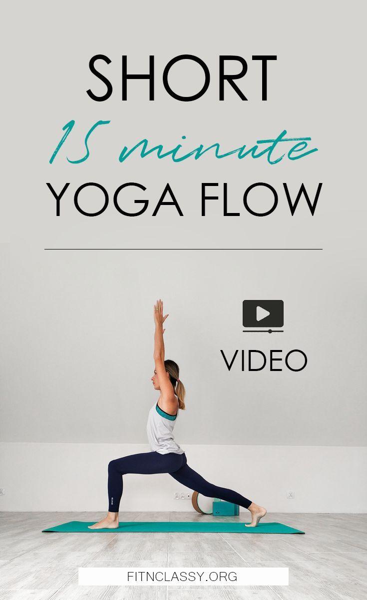 Short 15 Minute Yoga #yoga #fitness #yogapractice #homeworkout