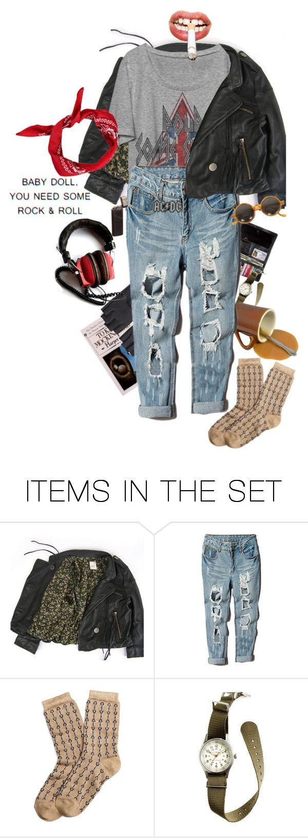 """""""Pyromania"""" by causingpanicatthetheater on Polyvore featuring art and vintage"""