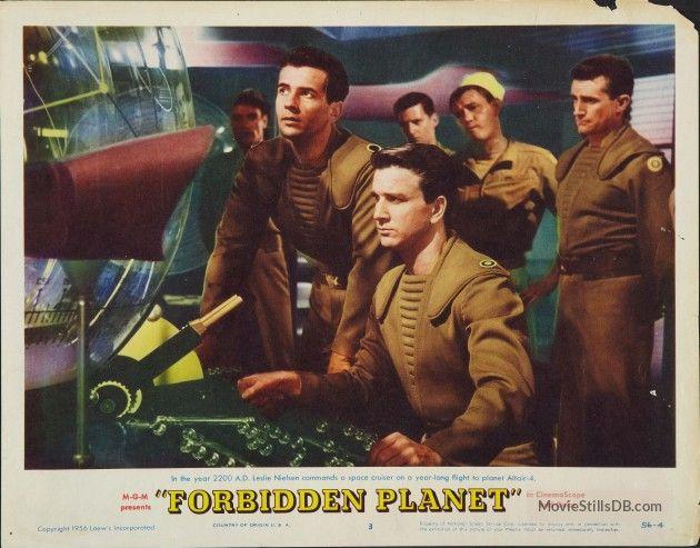 Forbidden Planet - Lobby card