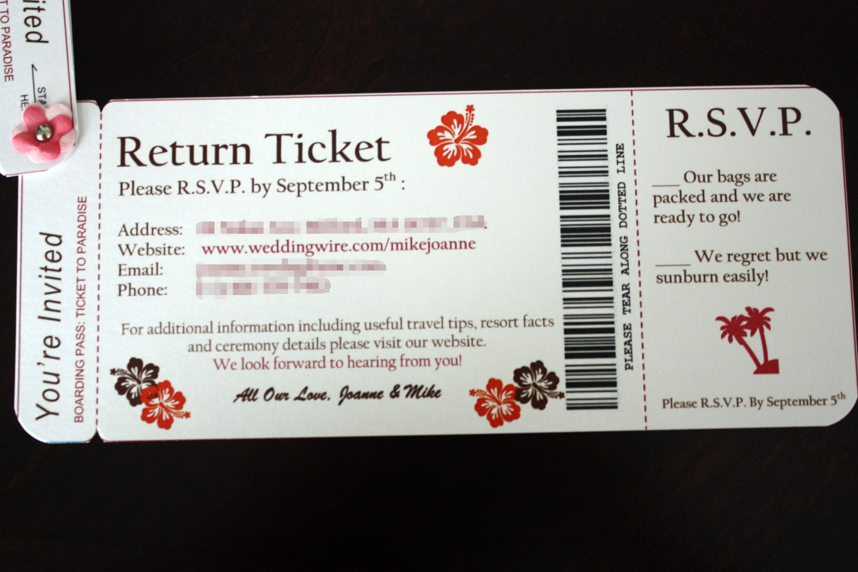 boarding pass rsvp template | Crafty | Pinterest | Boarding pass ...